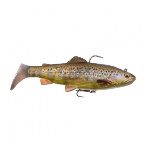Umělá Nástraha 4D Trout Rattle Shad 17cm 80g 03-Dark Brown Trout