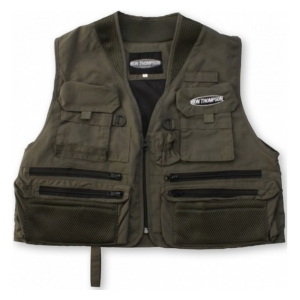Ron Thompson Rybářská Vesta Ontario Fly Vest XL Dusty Olive