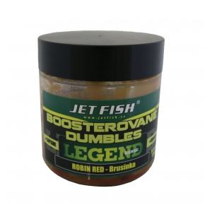 Jet Fish Boosterované dumbles Legend Range 120g - 14mm Robin red+ brusinka