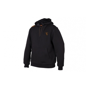 Mikina Collection Orange & Black Hoodie vel. S