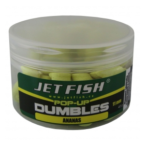 Fluoro pop-up dumbles 11mm-40g : ananas