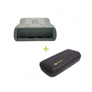 Ridgemonkey Powerbanka Vault C-Smart Wireless 26950mAh Green + GorillaBox 295 ZDARMA!