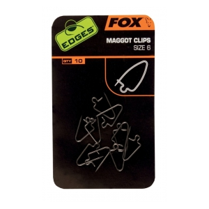 Fox International Edges Maggot Clips Size 6 x 10