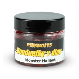 Bonduelky v dipu 50ml Monster Halibut