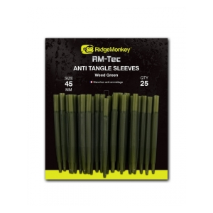 RidgeMonkey Anti Tangle Sleeves - převleky proti zamotání / 45mm zelená weed green