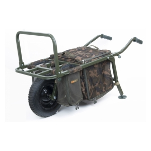 Vozík Explorer Barrow and Camo Lite Bag inc 2 straps & mesh bags