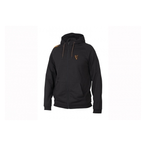 Mikina Collection Orange & Black LW Hoodie vel. L