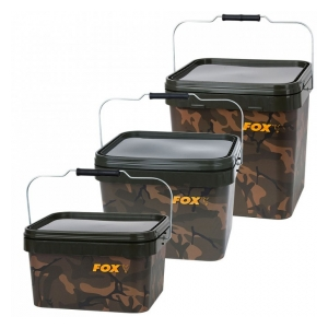 Fox International Kbelík Camo Square Bucket 5L