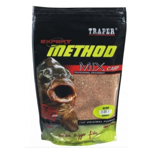 Traper Expet Method mix carp 1kg - Jahoda