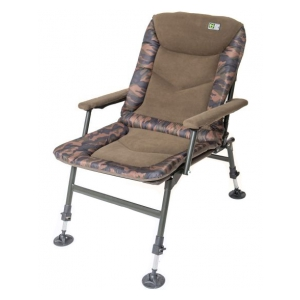 Křeslo Medium Deluxe Fleece Camo
