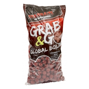 STARBAITS Global boilies STRAWBERRY JAM 20mm 2,5kg