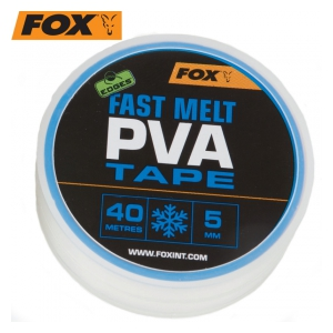 Fox International Edges Fast melt PVA Tape 5mm x 40m-PVA páska