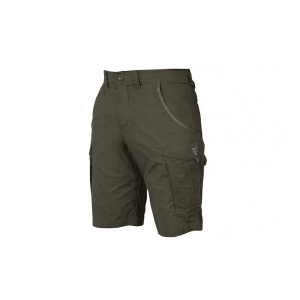 Kraťasy Collection Green & Silver Combat Shorts vel. M